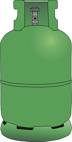 Gas-container