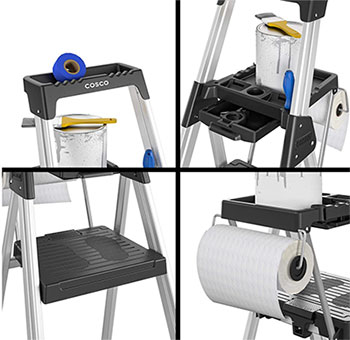 Tools Tray Step Ladders